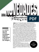 Revista Numero 1 Magiamadrid 1995