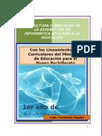 Planificaciones Informatica 1ro Bachillerato