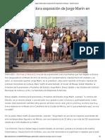 15-10-16 Inaugura Gobernadora Exposición de Jorge Marín en Musas - Opinión Sonora