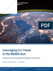 Leveraging U.S. Power in the Middle East