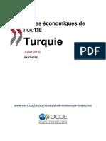 Turquie 2016 Etude Economique OCDE Synthese