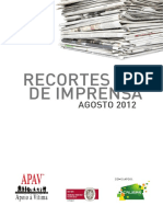 Jornal Agosto 2012