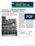 Axens Ccr Reforming Octanizing Technology to Thailand Refinery-English
