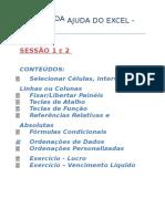 Tópicos 1 e 2 Da Ajuda Excel