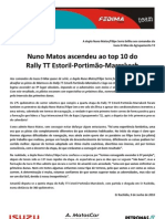 Press Nuno Matos 10.06.09 Etapa 4 Estoril-Marrakeche