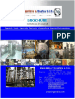 Brochure Ingenieria y Diseños Scrl