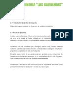 Plan de Negocios Gardenias