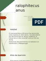 Australophitecus Africanus