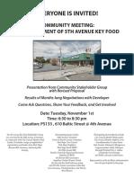 Key Food 11.01.16 Meeting Flyer Final