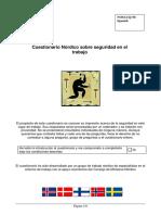 NOSACQ 50 Spanish 2012 Cuestionario
