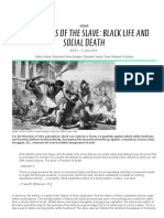 Wanderings of the Slave_ Black Life and Social Death _ Mute