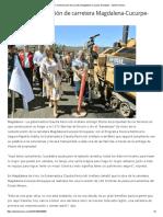 05-10-16 Inician reconstrucción de carretera Magdalena-Cucurpe-Sinoquipe. - Opinión Sonora