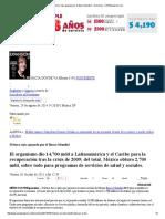 México, Más Apoyado Por El Banco Mundial