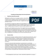 SVLG Information Security White Paper