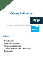 Clase 5 y 6 Costos Indirectos