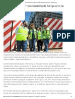 25-09-16 Supervisa Pavlovich Remodelación de Aeropuerto de Hermosillo. - Opinión Sonora