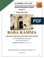 31d - Baba Kamma - 93b-119b