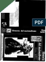 1. Kohn, Hans. Historia Del Nacionalismo
