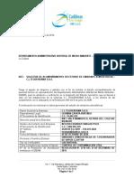 Informe Previo de Emisiones - Ces