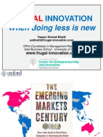 Frugal Innovation Research