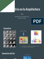 La Geometría en La Arquitectura