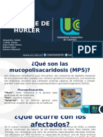 Sindrome de Hurler - MPS I