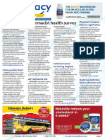 Pharmacy Daily for Tue 18 Oct 2016 - Pharmacist health survey, Sigma pharmacy warning, PPA paying $100 cash for new members, Guild Update and much more