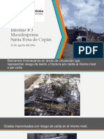 Informe 3 de Sso en Md Santa Rosa de Copan