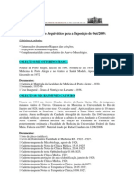 Anexo 6 - Relatório do Acervo Arquivístico Exposição de Out 2009.pdf