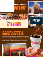 Dunkin Trade Show Brochure