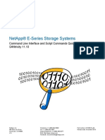NetApp ESeries Storage Systems Command Line