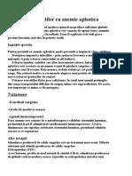 Ingrijirea Pacientilor Cu Anemie Aplastica