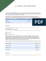 Intermediate Accounting III Homework Chapter 18