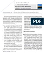 Boyer & Pronovost - JOM Editorial - What Medicine Can Teach Operations-what Operations Can Teach Medicine