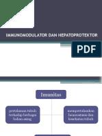 Imunomodulator Dan Hepatoprotektor