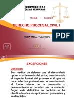 Derecho Procesal Civil 1 Semana 8