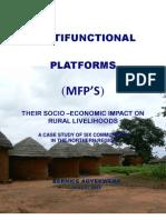 Multi Functional Platforms in Northern Ghana
