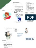 leaflet bronkitis