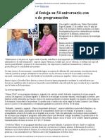 17/10/16 Radio Universidad Festeja Su 54 Aniversario Con Nuevos Contenidos de Programación - Canal Sonora