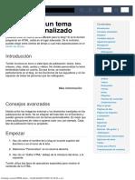 como crear plantilla html para tumblr
