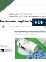 Pesquisa Revela Que Este Remédio é 100% Efetiva Contra o HIV