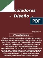 Plantas FLOCULADORES