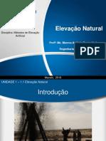 1.1 Elevaçao Natural