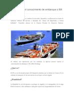 Como llenar el conocimiento de embarque o Bill of Lading.docx