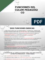 Las Funciones Del Currículum