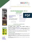 Guayaba, propiedades nutricionales