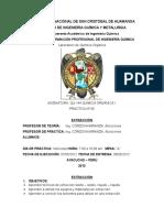 Informe de QU144 - 05