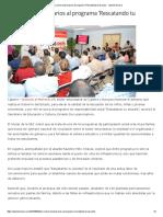 29/09/16 Se Suman Empresarios Al Programa 'Rescatando Tu Escuela'. - Opinión Sonora
