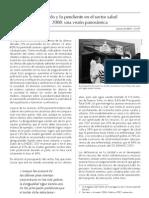 Lo avanzado y lo pendiente en el sector salud en el Perú 2008