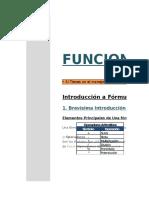 Funciones 01. Introducción a Funciones en Excel
